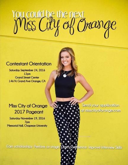 miss city of orange